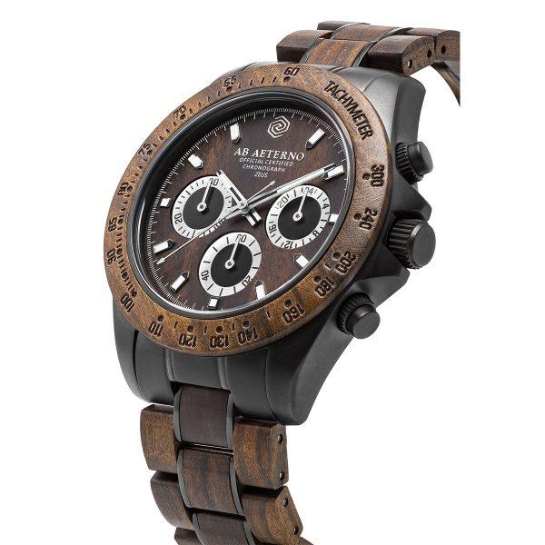 regalo di san valentino: orologio da polso in legno AB AETERNO